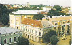 The history of Ivano-Frankivsk is still visible in the architectural styles.