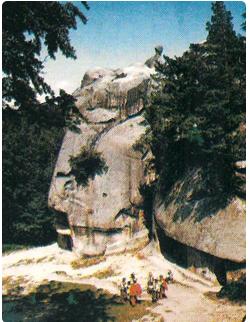 the Dovbush cave